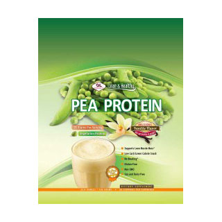 Pea Protein - Vanilla, 534 g (13 Servings), Olympian Labs