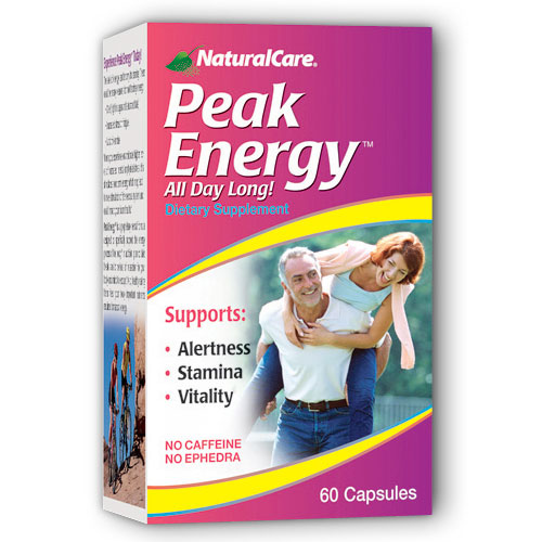 Peak Energy 60 caps from NaturalCare