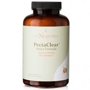PectaClear Detox Formula, Value Size, 180 Vegetable Capsules, EcoNugenics