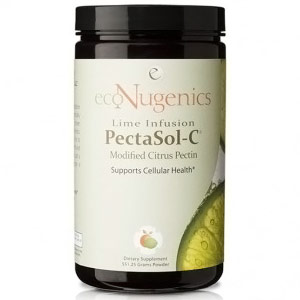 PectaSol-C Modified Citrus Pectin Powder, Lime Infusion, 90 Servings, EcoNugenics