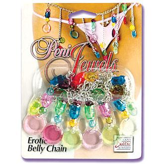Peni-Jewels Belly Chain, California Exotic Novelties