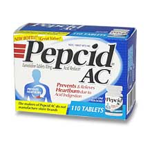 Pepcid AC Acid Reducer 110 Tablets