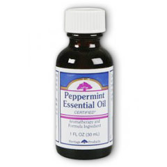 Peppermint Essential Oil, 1 oz, Heritage Products