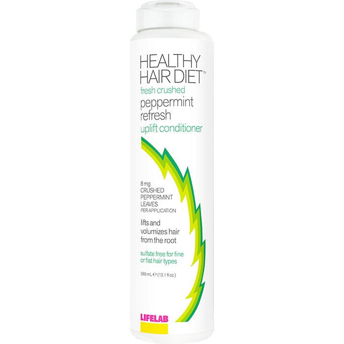 Healthy Hair Diet Fresh Crushed Peppermint Refresh Uplift Conditioner, 13.1 oz, LifeLab