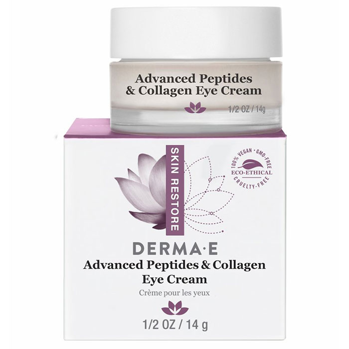 Derma E Advanced Peptides & Collagen Eye Cream, 0.5 oz