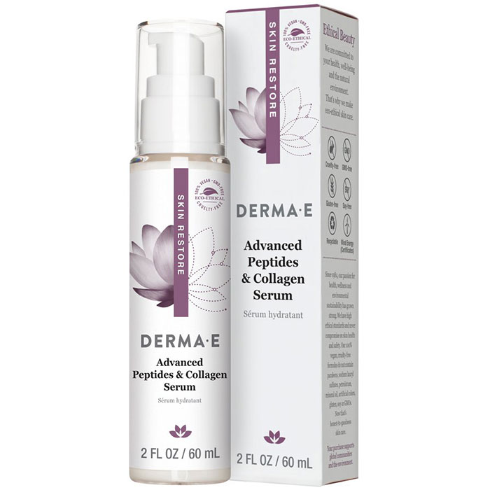 Derma E Advanced Peptides & Collagen Serum, 2 oz