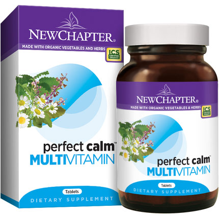 Perfect Calm, Whole-Food Nutrients with Anti-Stress Herbs, 144 Tablets, New Chapter