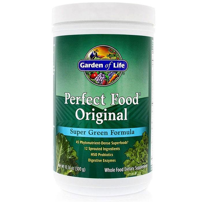 Perfect Food Original, Super Green Formula, 300 g, Garden of Life