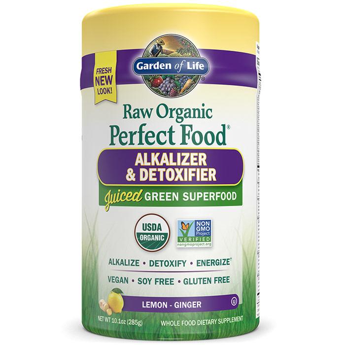 Raw Organic Perfect Food Alkalizer & Detoxifier Powder, 10.1 oz (285 g), Garden of Life
