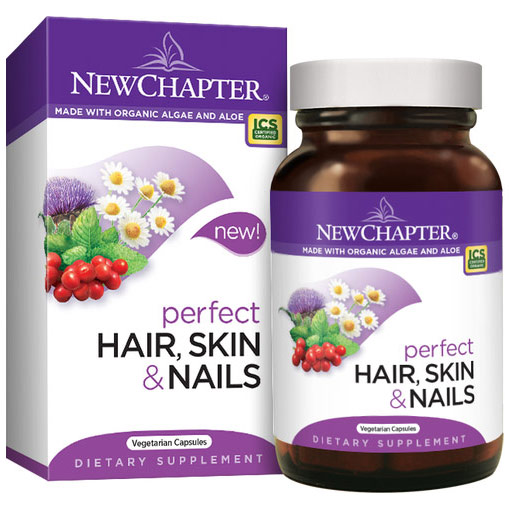 Perfect Hair, Skin & Nails, Value Size, 60 Vegetarian Capsules, New Chapter