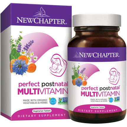 Perfect Postnatal Multivitamin Whole-Food, 48 Tablets, New Chapter