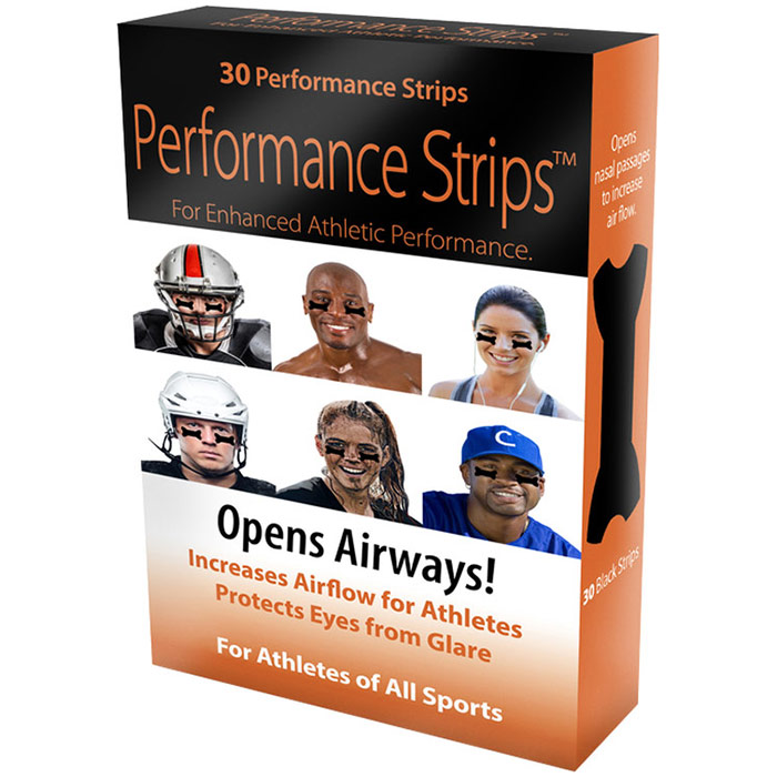 Performance Strips for Enhanced Athletic Performance, 30 ct, Stuffy Nose Strips
