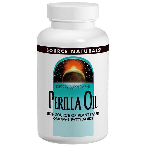 Perilla Oil 1000 mg, 60 Softgels, Source Naturals