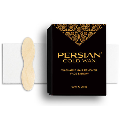 Persian Cold Wax for Face & Brow, 3 oz, Parissa Natural Hair Removal