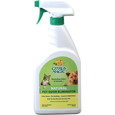 Pet Odor Eliminator Trigger Sprayer, 22 oz, Citrus Magic