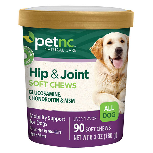 PetNC Dog Hip & Joint Soft Chews, Liver Flavor, 90 ct, 21st Century Animal HealthCare