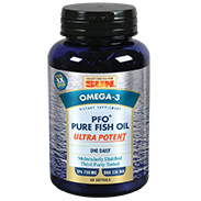 Omega-3 PFO Pure Fish Oil Ultra Potent, 60 Softgels, Health From The Sun