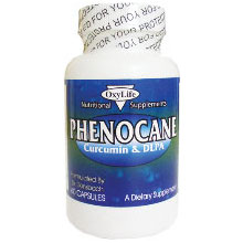 Phenocane, Pain Relief, 120 Capsules, Oxylife Products