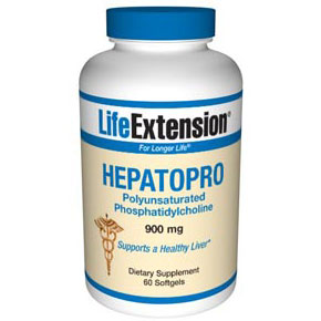 HepatoPro (Polyunsaturated Phosphatidylcholine), 60 Softgels, Life Extension