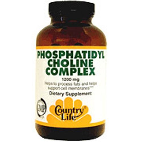 Phosphatidyl Choline Complex 1200 mg 200 Softgel, Country Life