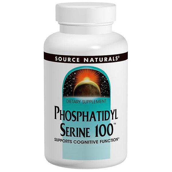 Phosphatidyl Serine 100, 30 Capsules, Source Naturals