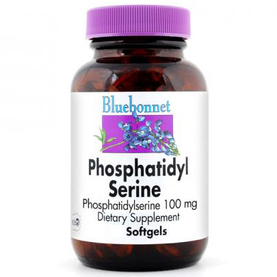 Phosphatidyl Serine 100 mg, 60 Softgels, Bluebonnet Nutrition