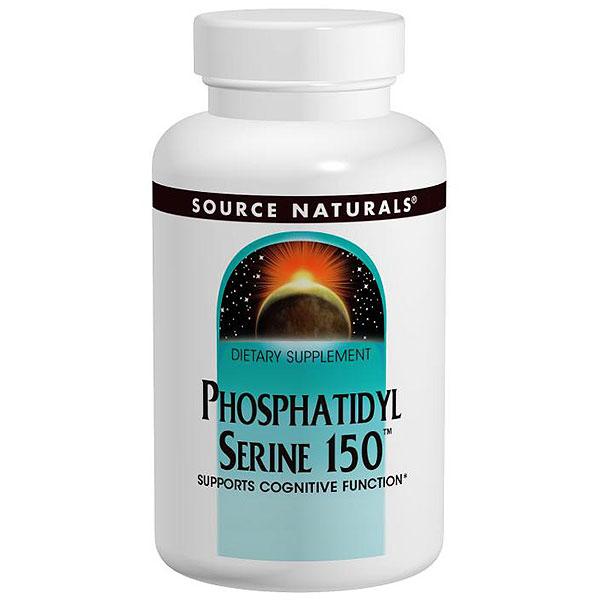 Phosphatidyl Serine 150, 30 Capsules, Source Naturals