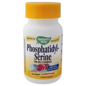 PhosphatidylSerine 500mg 30 softgels from Natures Way