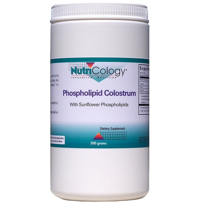 Phospholipid Colostrum Powder, With Sunflower Phospholipids, 300 g, NutriCology