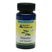 Phyllanthus, 60 Veggie Caps, Natures Formulary