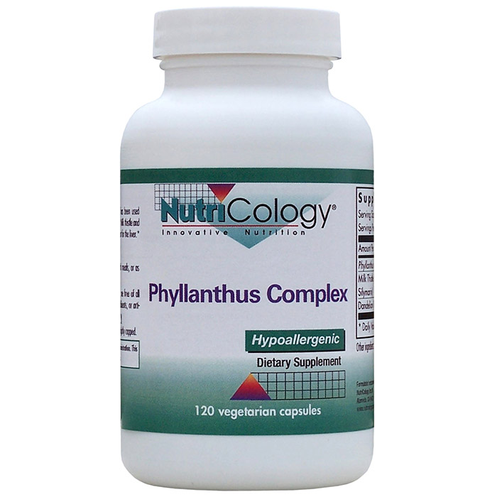 Phyllanthus Complex 120 caps from NutriCology