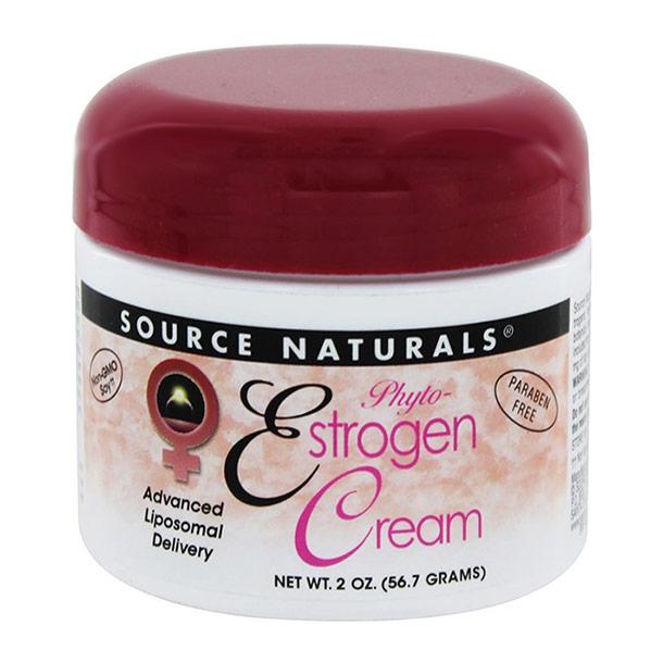 Phyto-Estrogen Cream (Phytoestrogen Cream) Liposome 2 oz from Source Naturals