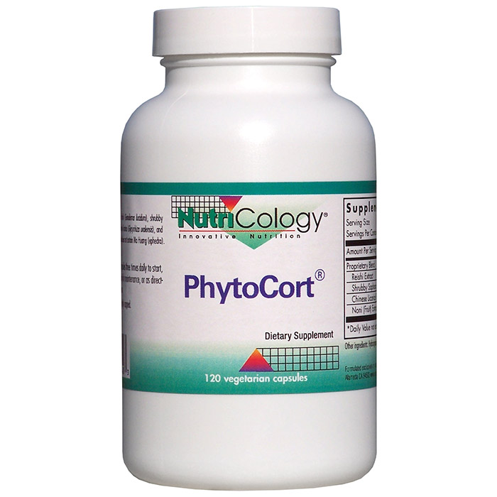 PhytoCort, 120 Vegetarian Capsules, NutriCology