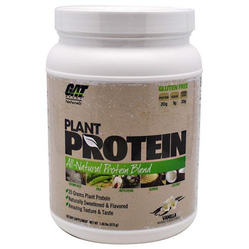 Plant Protein, All-Natural Blend, 1.48 lb (20 Servings), GAT Sport