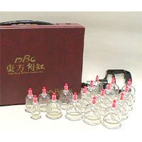 Plastic Cupping Set (17 per set)