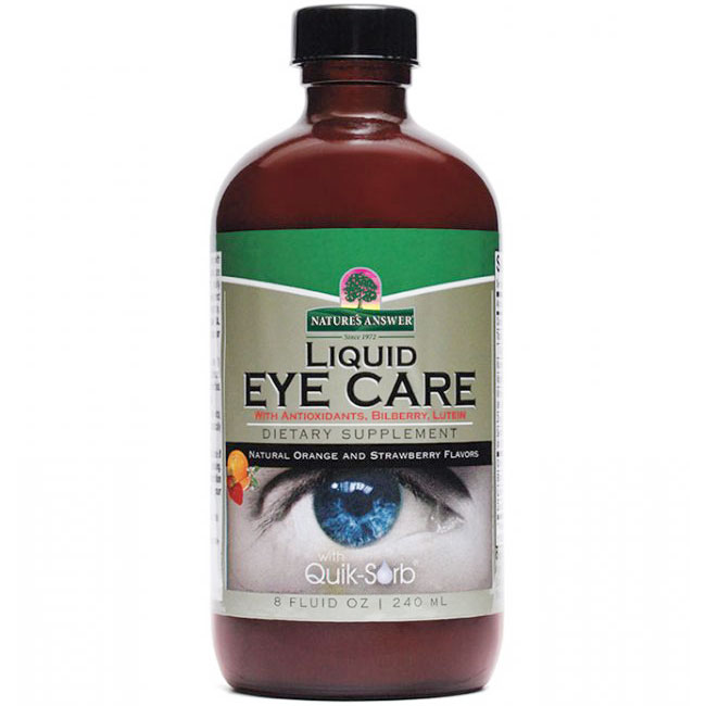 Platinum Liquid Eye Care 8 oz from Nature's Answer