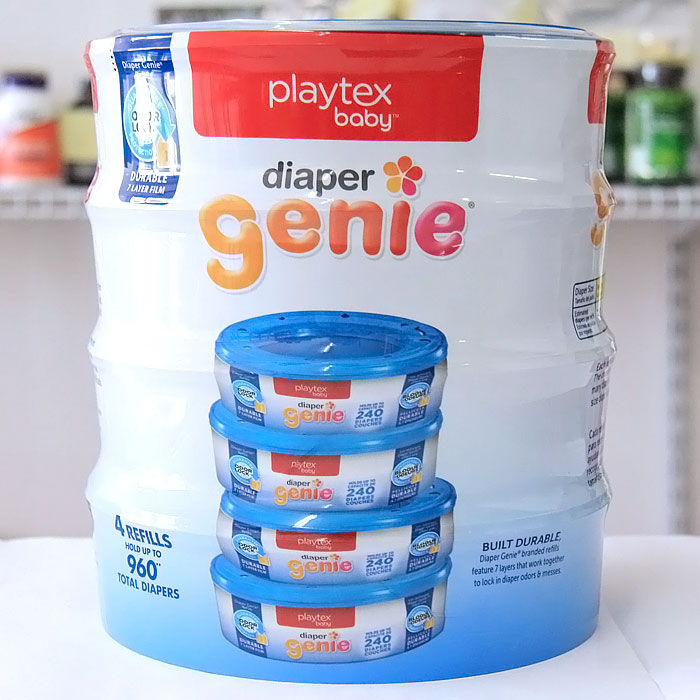 Image of Playtex Diaper Genie Refill Value Pack, 960 Diapers