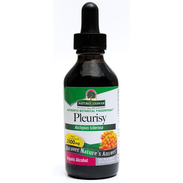 Pleurisy Root Extract Liquid 2 oz from Natures Answer