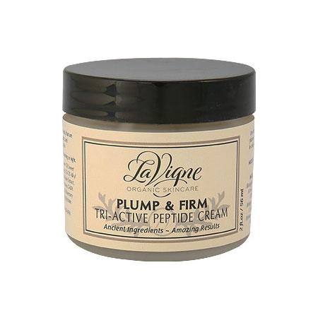 Plump & Firm Tri-Active Peptide Cream, 2 oz, LaVigne Organic Skincare