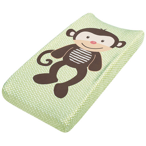 Plush Change Pad Pals, Changing Pad Cover, Monkey, Summer Infant Baby Products