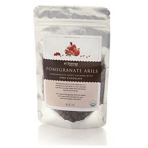 Pomegranate Arils - Dark Chocolate Covered, 1.8 oz, Extreme Health USA