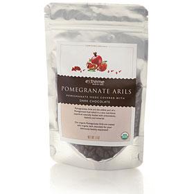 Pomegranate Arils - Dark Chocolate Covered, 5 oz, Extreme Health USA