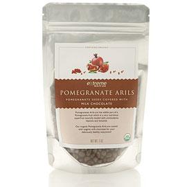 Pomegranate Arils - Milk Chocolate Covered , 13 oz, Extreme Health USA