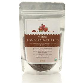 Pomegranate Arils - Milk Chocolate Covered, 5 oz, Extreme Health USA