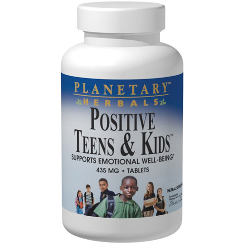 Positive Teens & Kids, 60 Tablets, Planetary Herbals