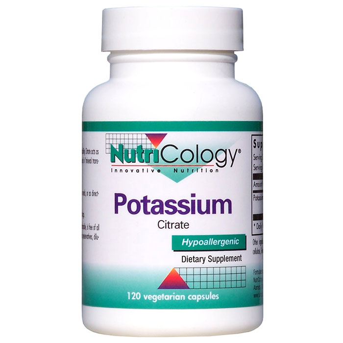 Potassium Citrate 120 caps from NutriCology