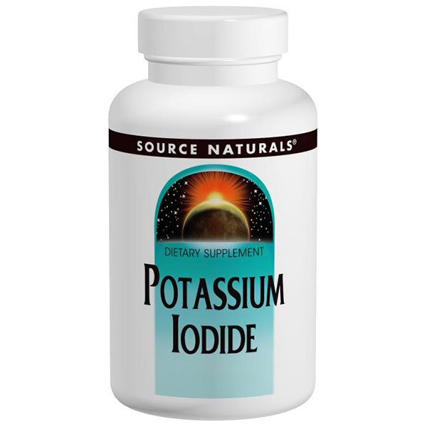 Potassium Iodide 32.5mg 60 tabs from Source Naturals (Vitamins Supplements - Potassium)