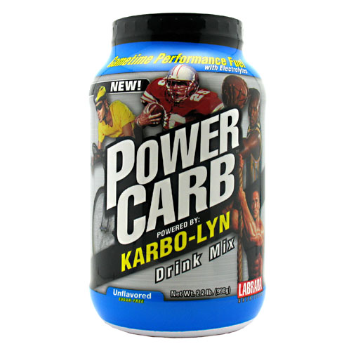Power Carb Gametime, Karbo-Lyn Drink Mix, 2.2 lb, Labrada Nutrition