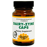 Power Dairy-Zyme Caps 50 Vegicaps, Country Life