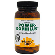 Power-Dophilus 200 Vegicaps, Country Life
